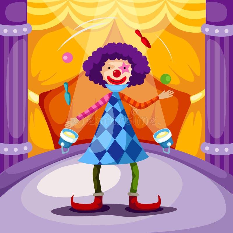 Clown lizenzfreie abbildung