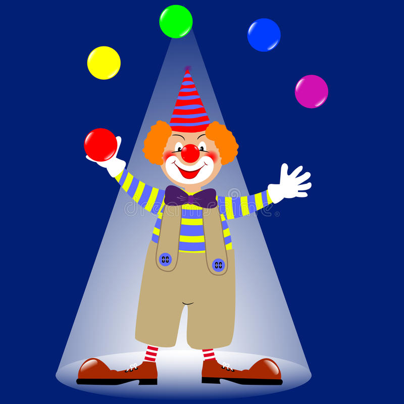 Free Clown. Royalty Free Stock Photo - 18960225
