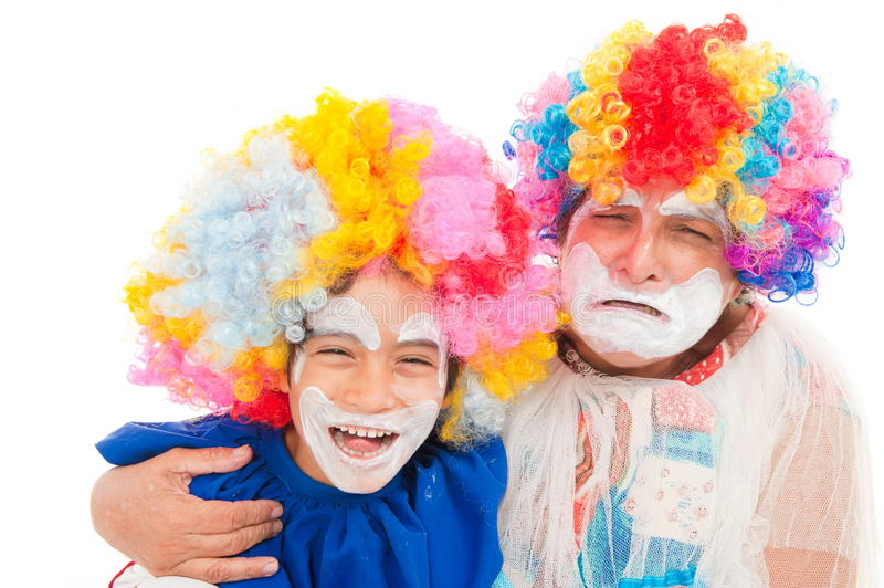 Download Clown stock image. Image of face, humor, crying, studio - 18997551