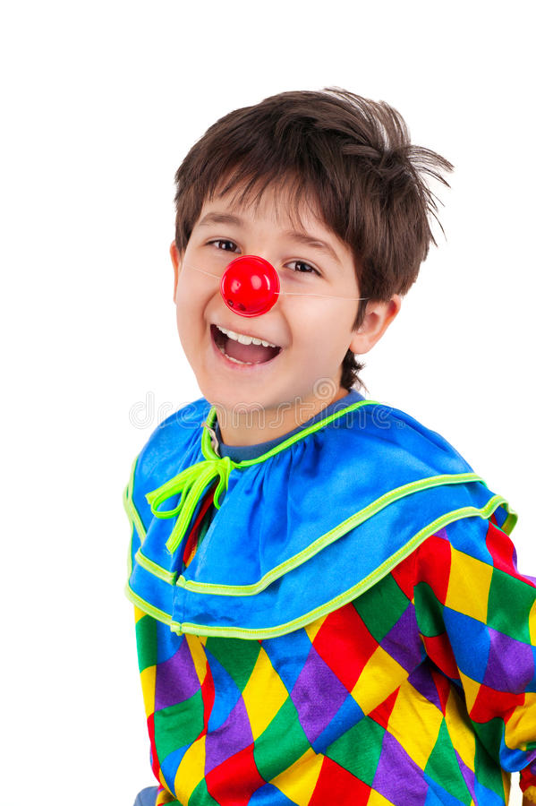 Download Clown stock image. Image of childhood, male, enjoyment - 24495985