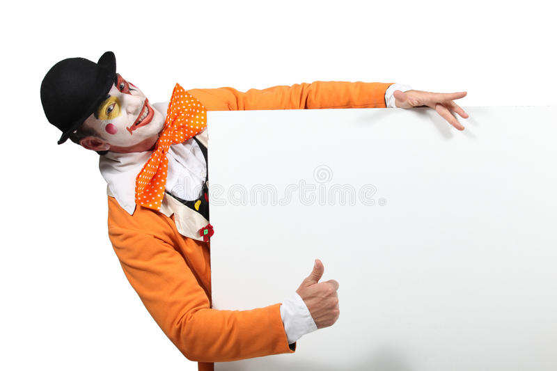 Download Clown stock photo. Image of horizontal, pose, entertainment - 26493828