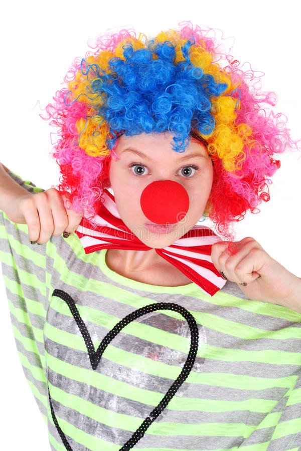 Clown royalty-vrije stock afbeelding