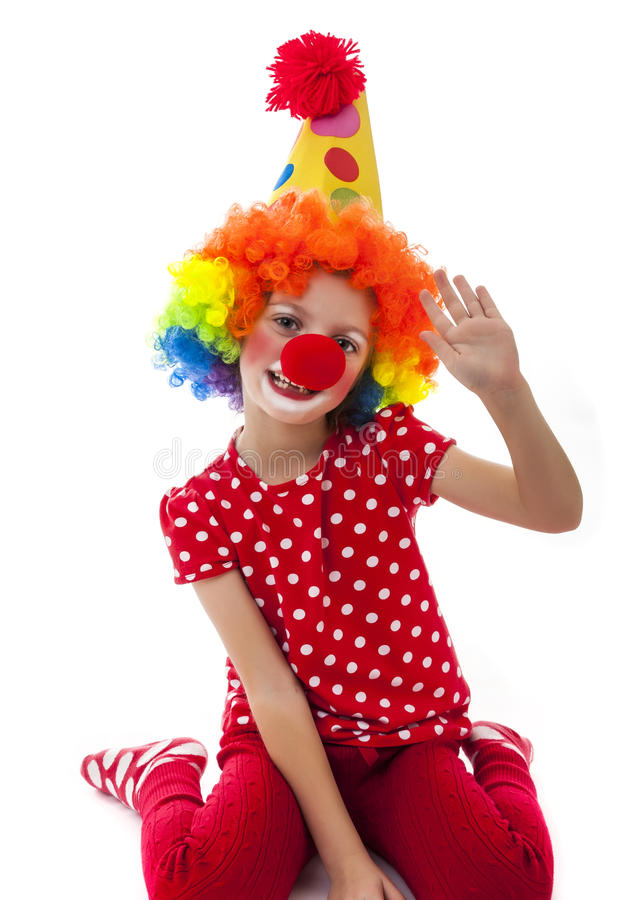 Clown stockfoto