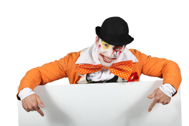 Clown stockbild