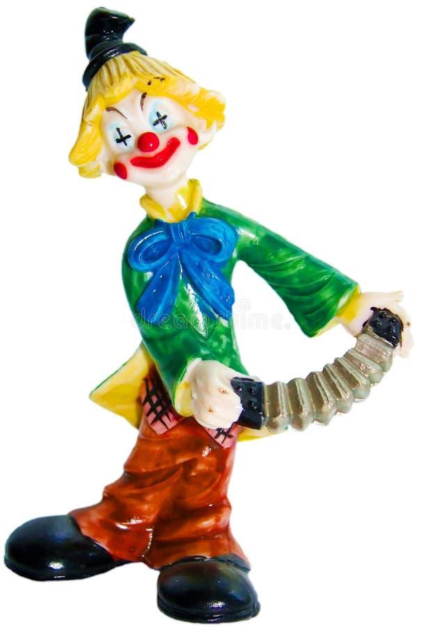 clown royaltyfri foto