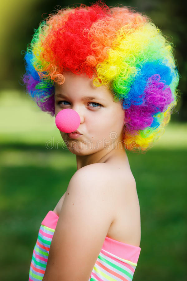 Clown lizenzfreie stockfotografie