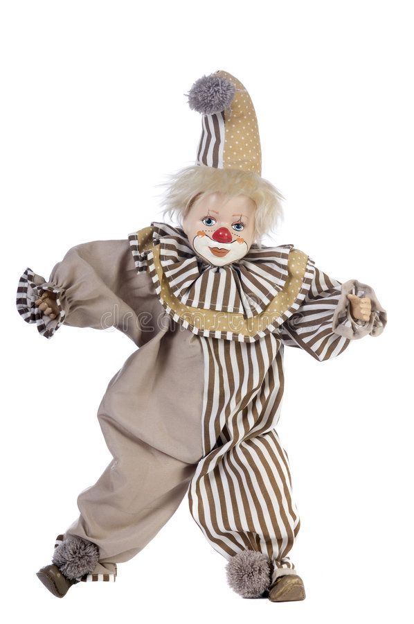 Download Clown stock photo. Image of doll, silly, smile, artistic - 4391218