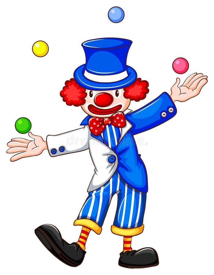 clown vektor illustrationer