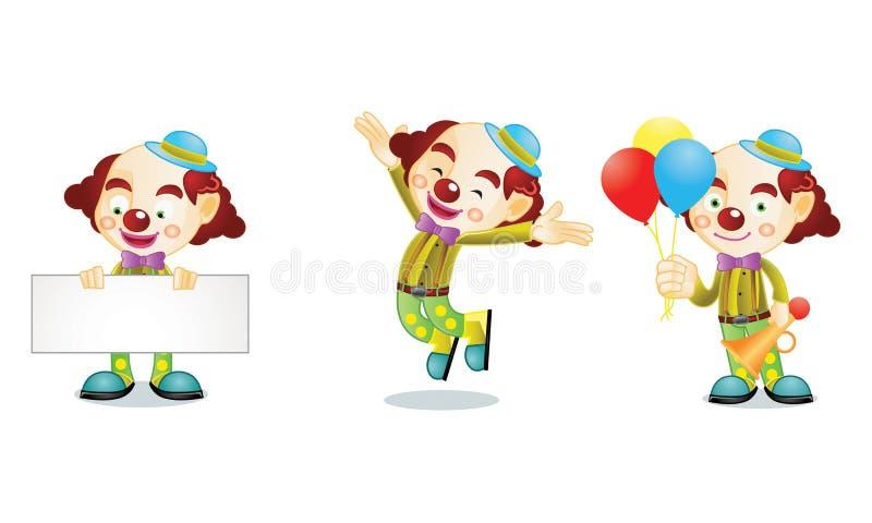 Clown 1 stock abbildung