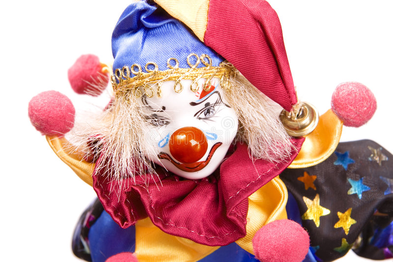 Clown stockfotografie