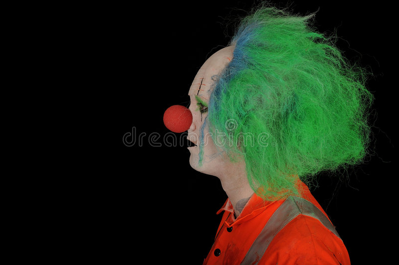 Clown stock foto