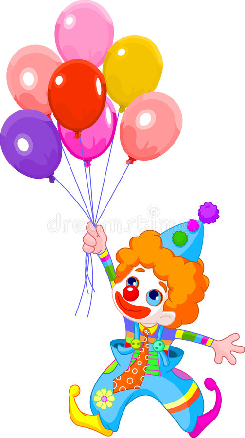 Clown vektor abbildung