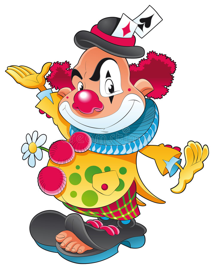 clown illustration de vecteur
