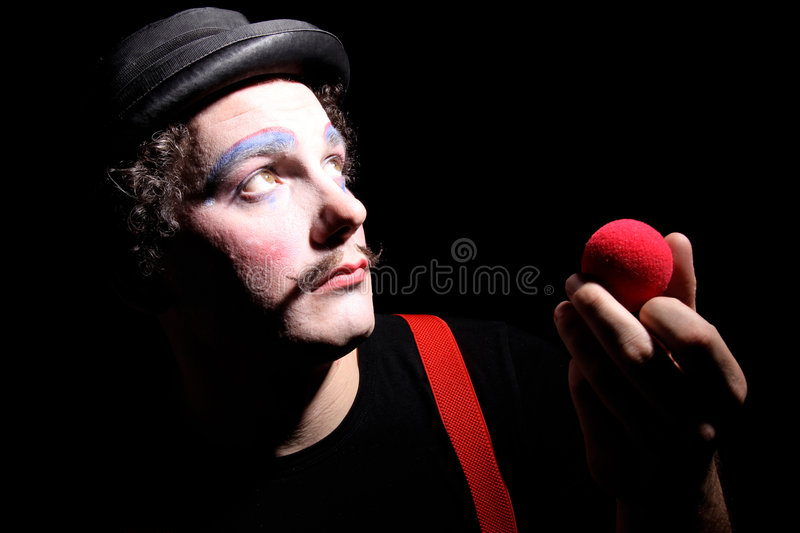 Download Clown photo stock. Image du désespoir, acteur, amusement - 8651888