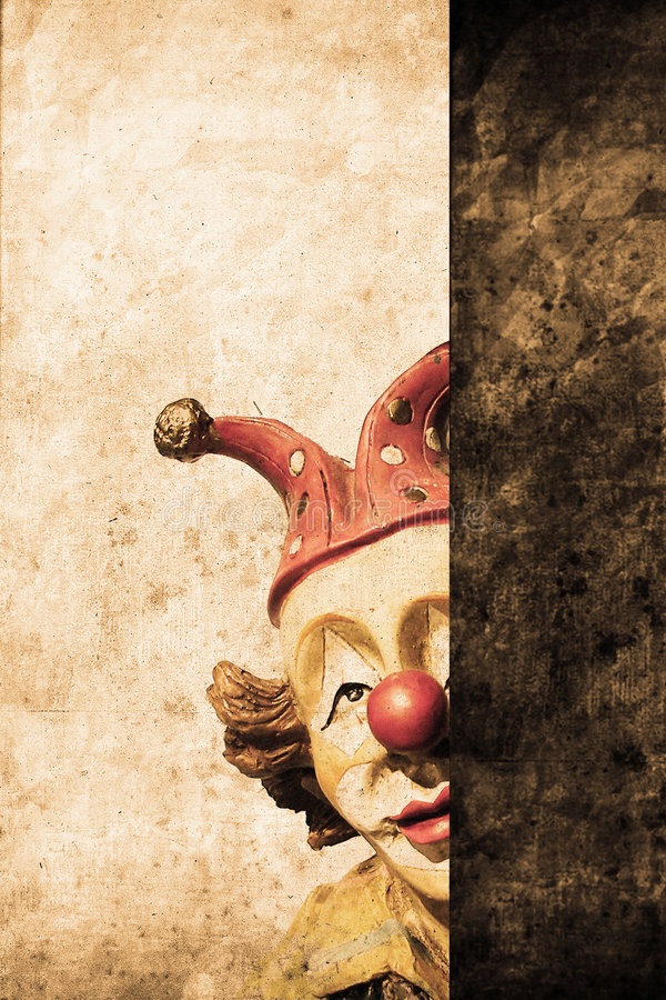 Download Clown stock photo. Image of poster, attrited, mark, circus - 9145546