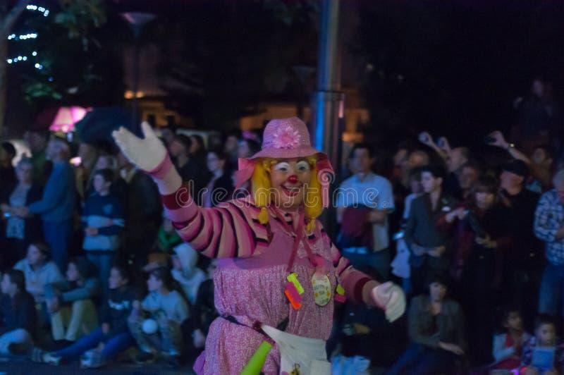 Clown - Adelaide Fringe 2017 royalty free stock photos