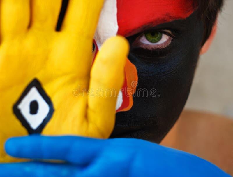 Clown als royalty-vrije stock foto