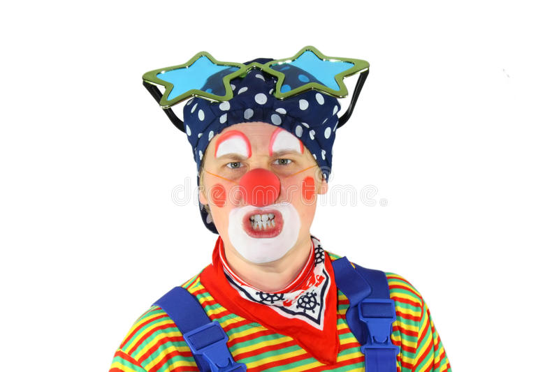 Download Clown is angry stock photo. Image of angry, above, laugh - 16988136