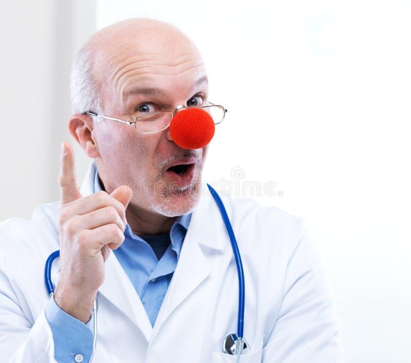 Clown arts stock foto's