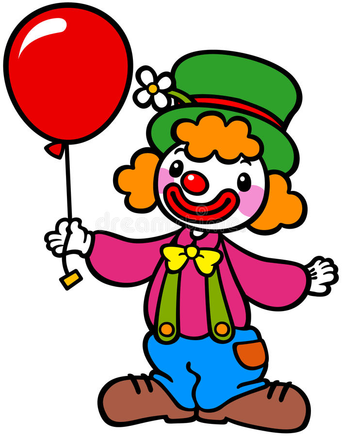 clip art clowns with balloons - photo #39