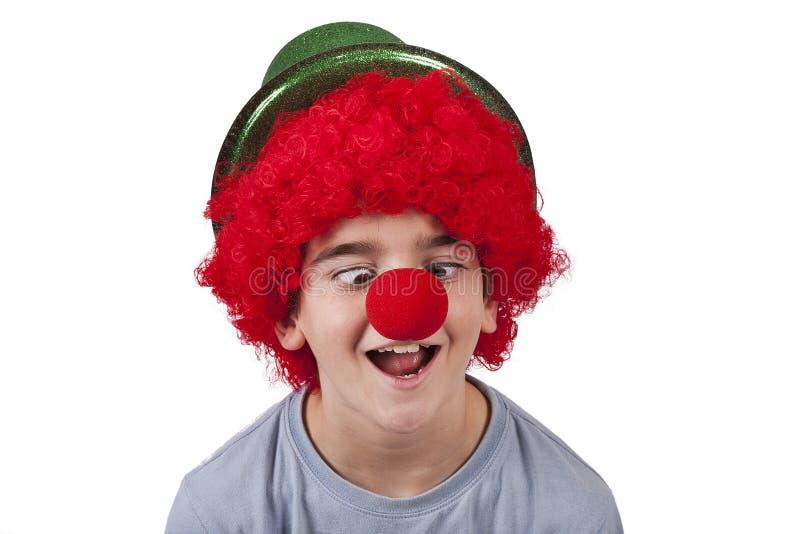 Clown royalty free stock photo