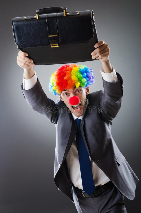 Download Clown Businessman - Funny Business Concept Stock Photo - Image: 21206198