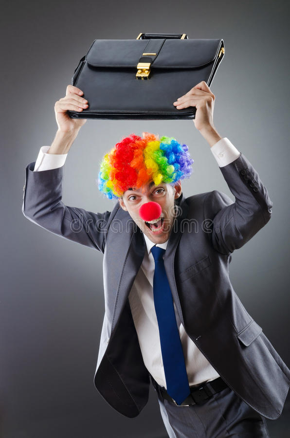 Download Clown Businessman - Funny Business Concept Stock Image - Image: 21534157