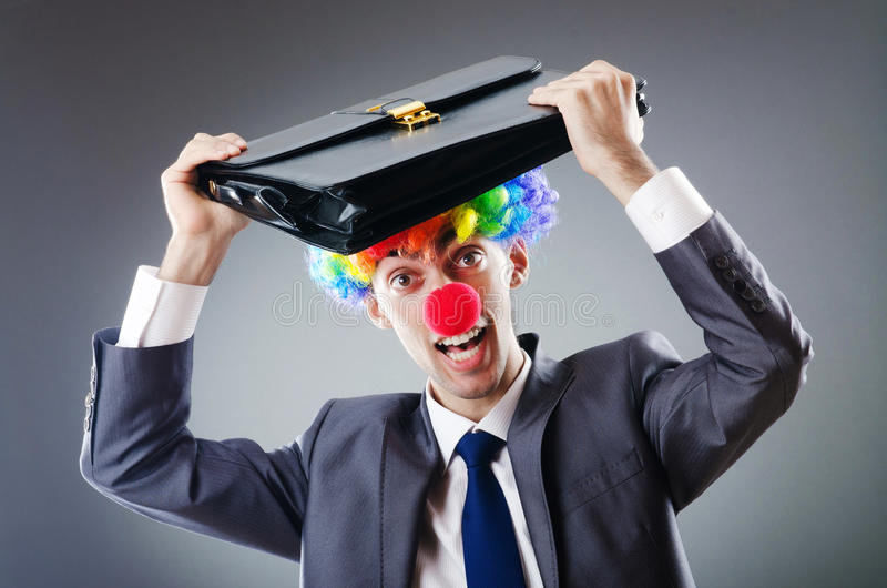 Download Clown Businessman - Funny Business Concept Stock Photo - Image: 21895322