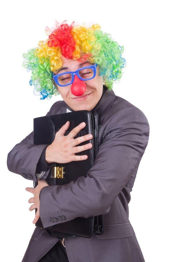 Clown Businessman Stock Photo