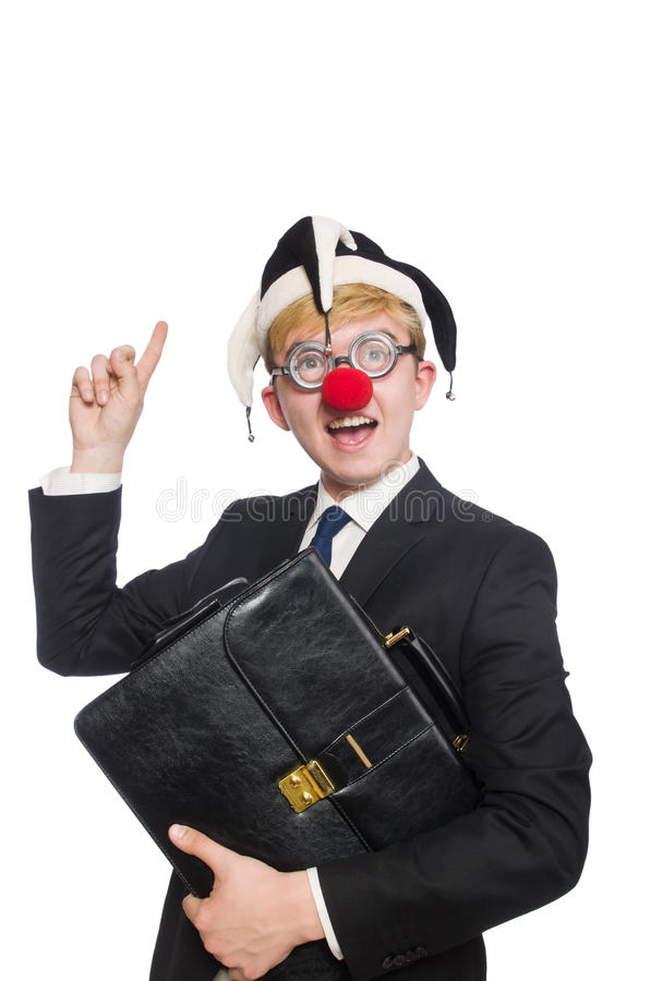 Download Clown businessman stock photo. Image of buffoon, businessman - 42203916