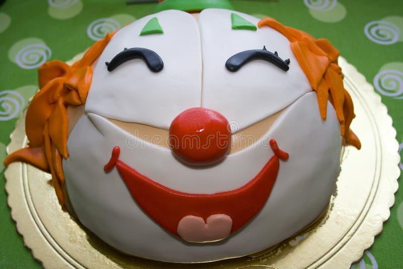 Clown Cake stock photography