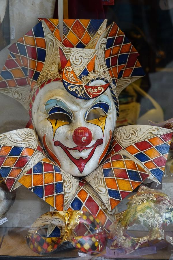 Clown, carnaval, masque, art photo stock