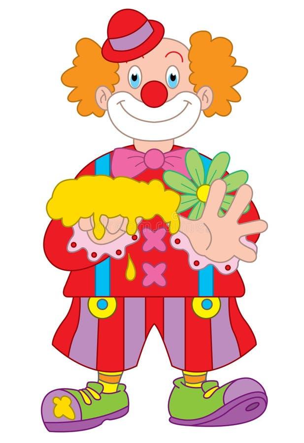 Clown Cartoon Illustration Stock Photo