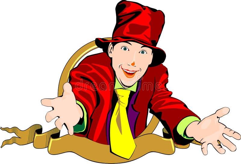 Download Clown stock vector. Illustration of computer, humor, graphic - 31048187