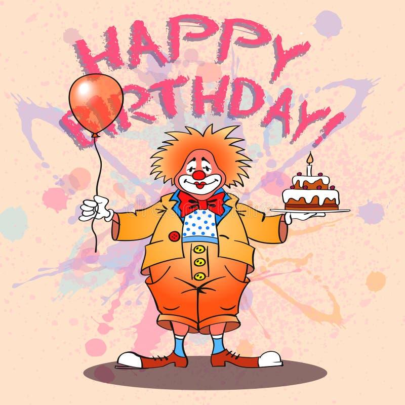 Download Clown02color feliz ilustración del vector. Ilustración de felicidad - 41920134