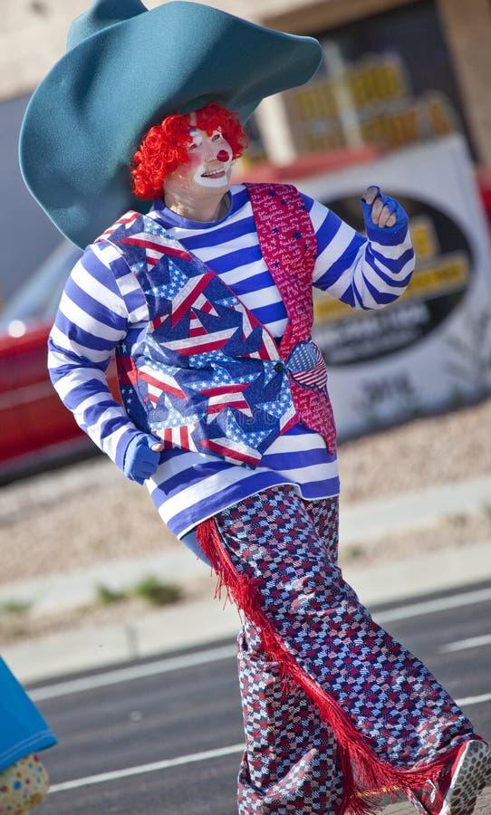 Clown cowboy in Arizona Parade