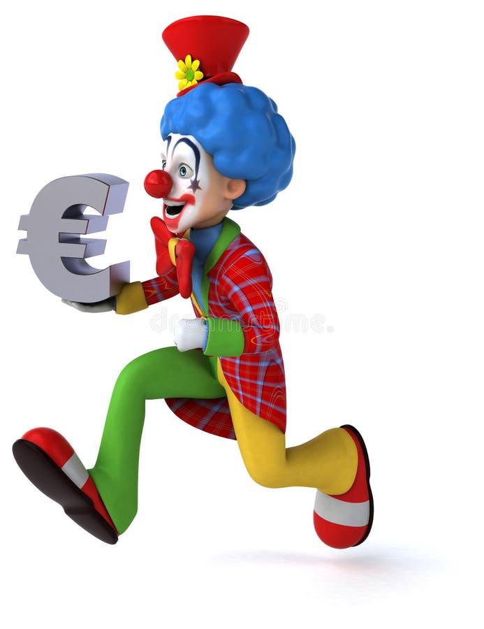 Download Clown d'amusement illustration stock. Illustration du drôle - 56490471