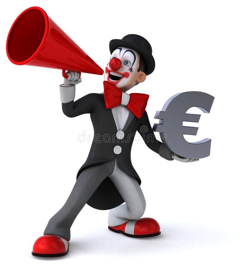Download Clown d'amusement illustration stock. Illustration du bonheur - 56490479