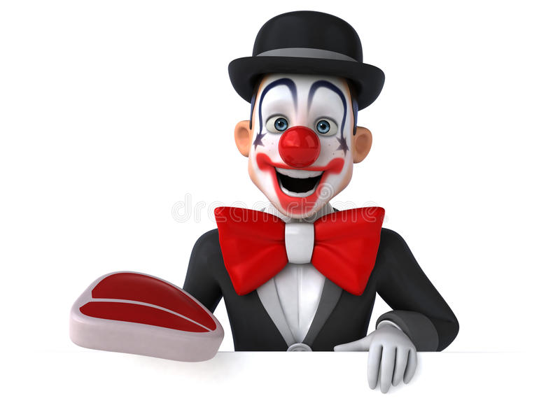 Download Clown d'amusement illustration stock. Illustration du homme - 56490487