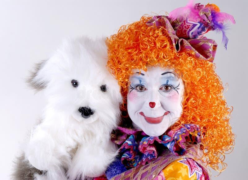 Clown de cirque image stock