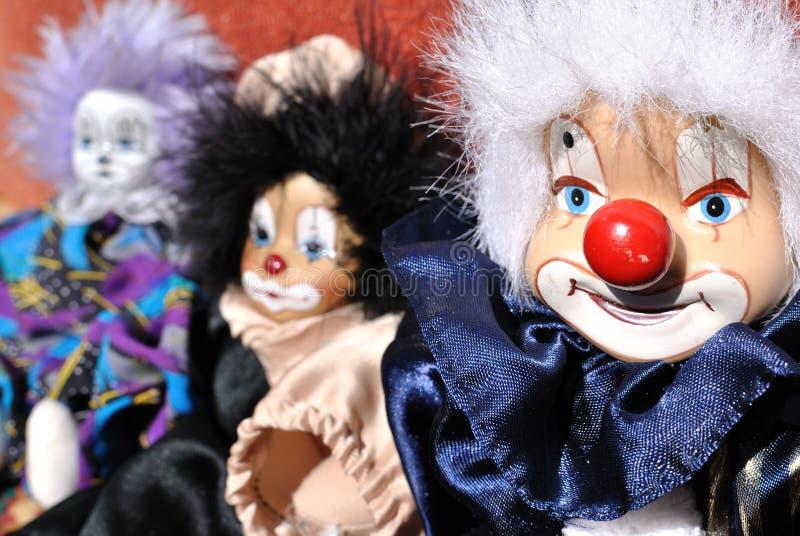 Clown de jouet photographie stock libre de droits