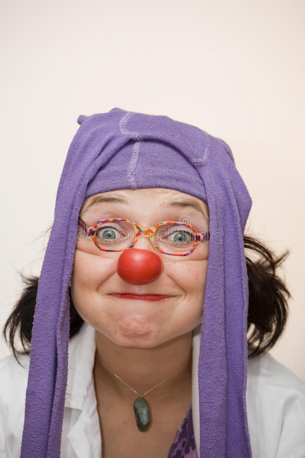 Download Clown doctor stock image. Image of zany, glaikit, adult - 11076421