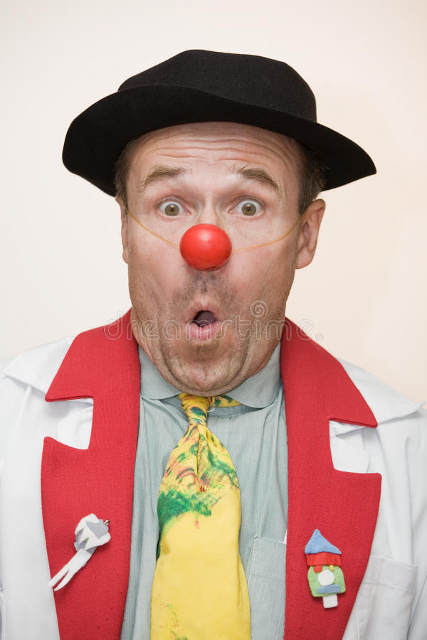 Download Clown doctor stock image. Image of astonishment, expression - 11076439