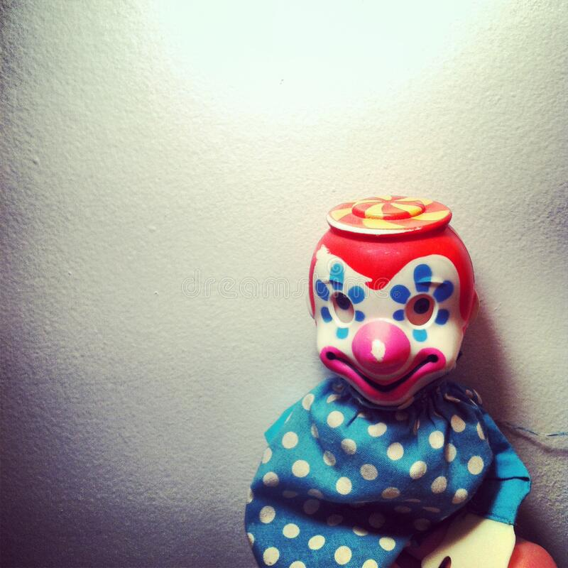 Clown Doll arkivfoton