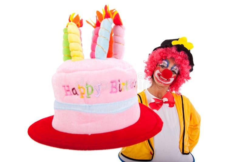 Clown drôle image libre de droits