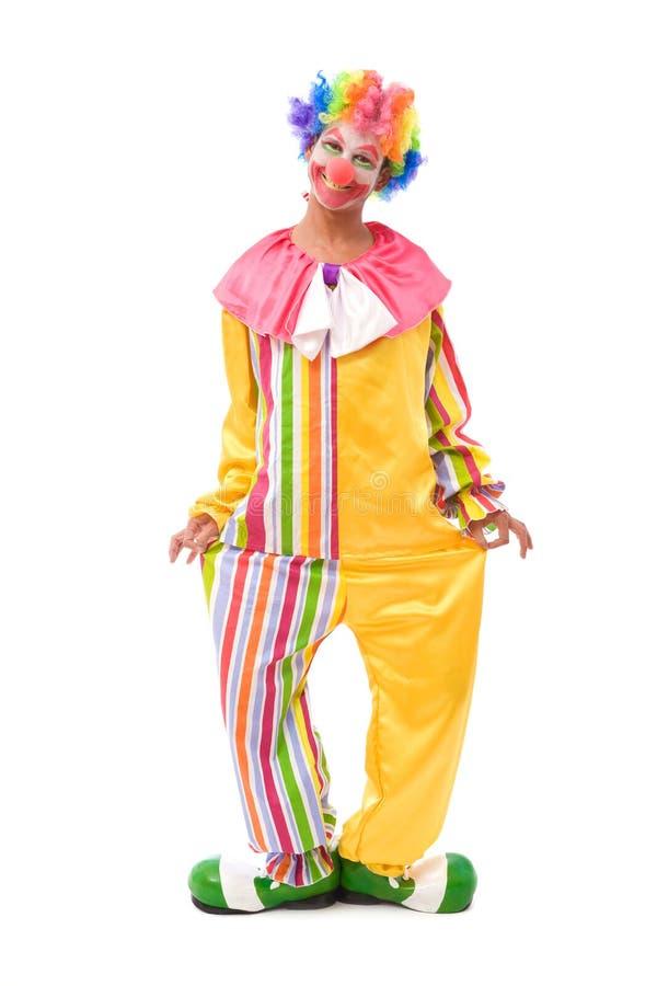 Clown drôle photos libres de droits