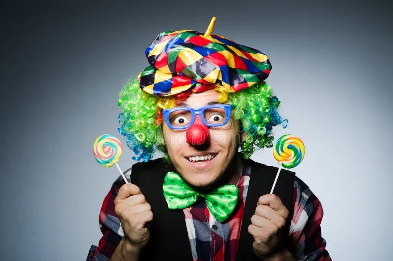 Clown drôle images stock