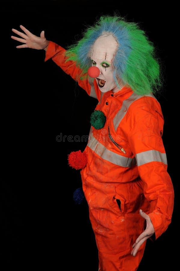 clown effrayant photo libre de droits