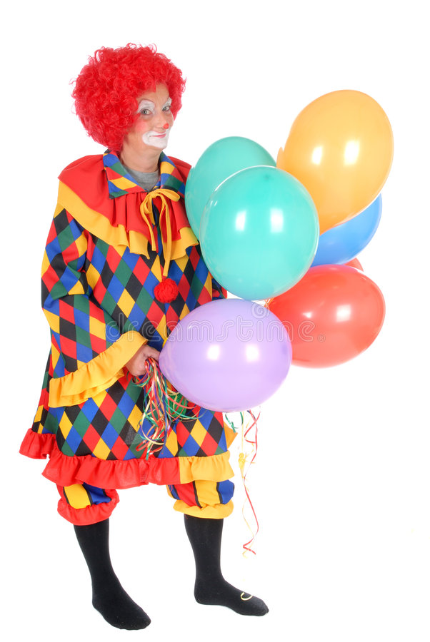 Clown, Halloween stock fotografie