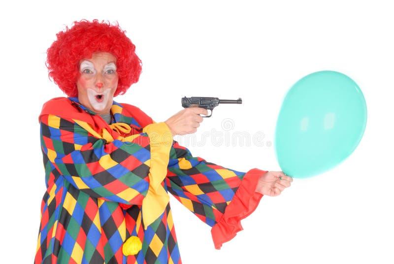 Clown, Halloween stock afbeelding